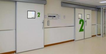 Двери двери в больнице