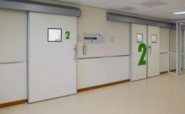 Двери для медицинских учреждений, кабинетов