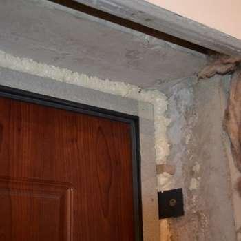 Дверные откосы для штукатурки