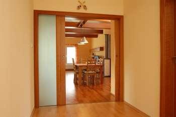 Двойные двери пенал