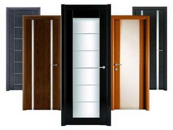 Пять комнатных дверей
