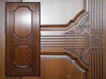Резные накладки на двери
