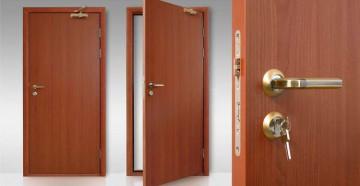 Шпонированная дверь