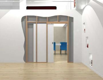 Схема устройства двери пенала