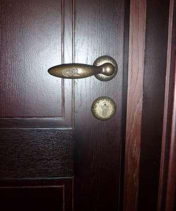 Темная дверь
