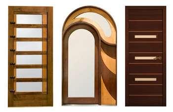 Три необычные двери