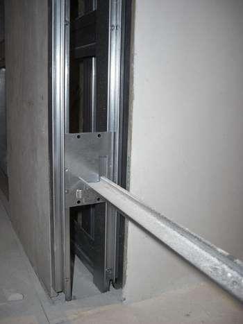 Железный каркас для двери пенала