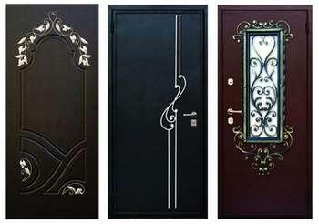Три входные двери