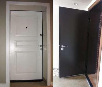 2 бронированных двери