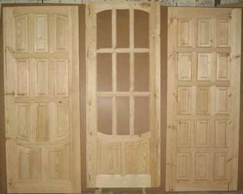 3 филенчатых двери