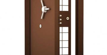 Бронированная дверь с штурвалом