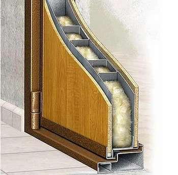 Дверь внутри