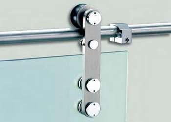 Фурнитура для стеклянных сдвижных дверей