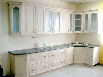 Кухня белёный дуб