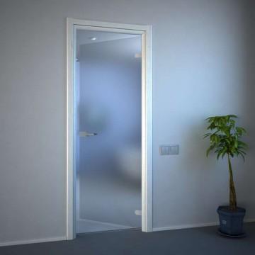 Межкомнатная стеклянная дверь акма