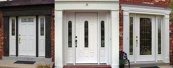 Три входных двери