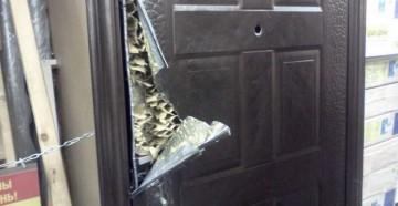 Ужасная входная дверь