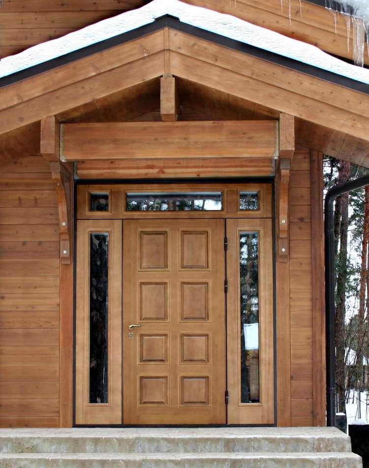Входные двери для частного дома своими руками