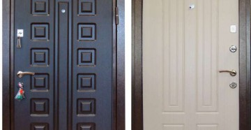 Дверь кондор х2 снаружи и изнутри