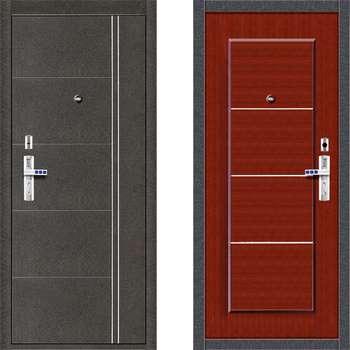Две двери форпост разных цветов