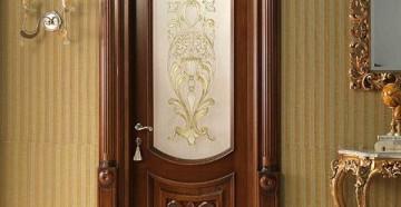 Красивая межкомнатная дверь