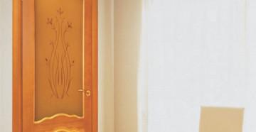 Межкомнатная дверь зодчий шпон