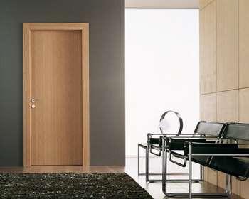 Межкомнатные двери  с простым полотном