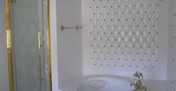 Стеклянная дверь для душевой кабины