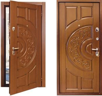Входная дверь бульдорс с рисунком