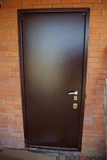 Дверь по прозвищу зверь входная