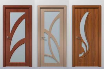 Три двери разного цвета