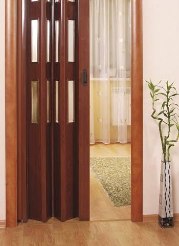 Дверь гармошка в комнату