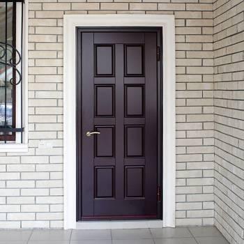 Уличные входные металлические двери