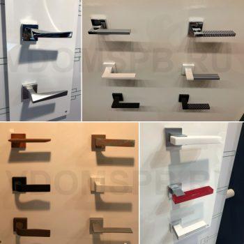 Итальянские ручки для межкомнатных дверей на выставке в Милане 2017 год